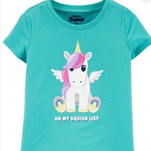 12 M - Cute unicorn tee